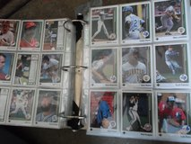Binder full of baseball cards in Sandwich, Illinois