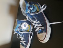 harry potter customized converse shoes (USED) in Mayport Naval Station, Florida