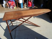 Antique Wooden Ironing Board in Oswego, Illinois
