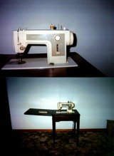 Sewing Machine With Mediterranean Cabinet in New Lenox, Illinois