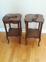 Project Piece - Pair of Antique end tables, side tables, night stand in Oswego, Illinois