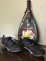 Racquetball Racket and Shoes in Fairfax, Virginia