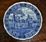 Delfts Blauw 33cm Collector Plate in Ramstein, Germany