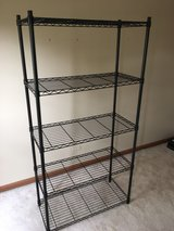 Wire 5-Tier Shelving Unit in Elgin, Illinois