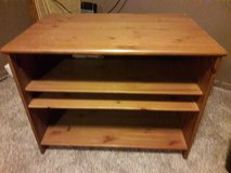 Wood TV stand in New Lenox, Illinois