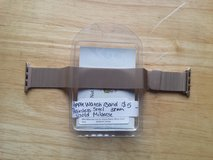 Apple Watch band gold stainless steel 38mm in Fort Campbell, Kentucky