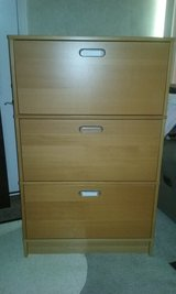 **REDUCED** IKEA Effektiv 3-Drawer Filing Cabinet  Beech Finish - Used in Tinley Park, Illinois