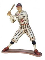3 ft. tall baseball player statue in Batavia, Illinois