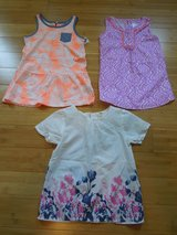 Girl's Summer Shirt Lot - Size 6/6X in Oswego, Illinois