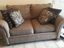 Loveseat and couch from Rooms for Less. 2 yrs old, pet free in Clarksville, Tennessee