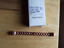 Fitbit Alta rose gold stainless steel band in Fort Campbell, Kentucky