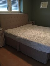 King size bed frame and mattress in Baumholder, GE