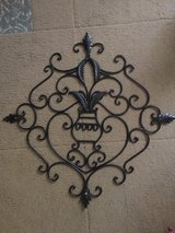 Iron wall hanging in Beaufort, South Carolina