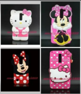 Brand new LG Stylo 2 3D silicone Hello kitty/ Minniecase in Lawton, Oklahoma