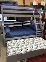 New Gray Twin Full Bunk Bed in Fort Knox, Kentucky