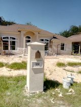 We do custom stucco and stone mail box in Bellaire, Texas
