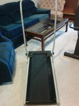 Portable Folding Incline Treadmill (Manual) in Cherry Point, North Carolina