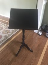 Black Wood Music Stand in Westmont, Illinois