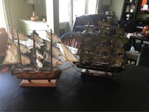 Two Vintage Sail Ships in Westmont, Illinois