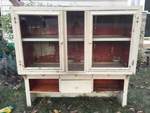 Antique hutch (top and bottom) bottom not pictured in Elgin, Illinois