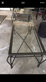 Pier one glass coffee table in Fairfield, California