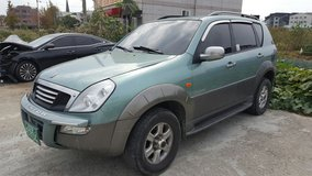 2002 SSANGYONG REXSTON-AUTO-4×4-7SEATS in Osan AB, South Korea