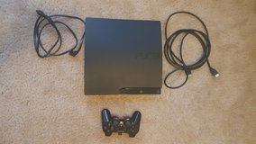 PlayStation3 160GB Slim Console with 4 games in Fort Bliss, Texas