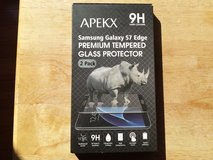 Apekx samsung galaxy s7 tempered glass screen protector 2 pack in Fort Campbell, Kentucky