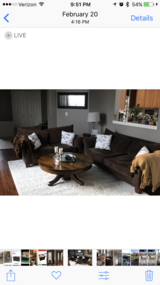 Couch and love seat for sale in Orland Park, Illinois