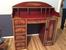 Desk, one of a kind vintage hand built painted desk. PRICE DROP in Fort Belvoir, Virginia