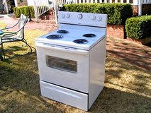 Stove-Range-White-Electric-3 months warranty in Byron, Georgia