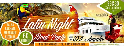 -GRAND OPENING- SALSA BOAT PARTIES - MANNHEIM,GERMANY- 29th & 30th SEP 2017 in Mannheim, GE