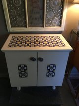 "Nice cabinet tile on top and doors has 1 shelve.  171/2 deep 30""wide 30""tall in Conroe, Texas"