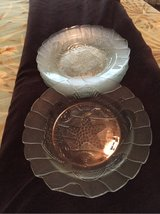 Glass Seashell Plates in Beaufort, South Carolina