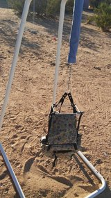 Baby swing in 29 Palms, California