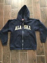 Men's small (women's medium-large) Alaska sweatshirt in Byron, Georgia