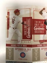 2 tickets to cubs vs cardinals Thursday 9-28 in Rolla, Missouri