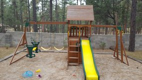 Swing Set Play House in Alamogordo, New Mexico