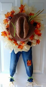Handmade Scarecrow Wreath in Bolling AFB, DC