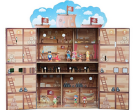 Wooden Pirate Themed PlaySet and Figurines!! in Batavia, Illinois