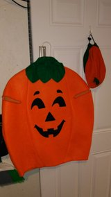 Pumpkin costume with hat in Fort Campbell, Kentucky