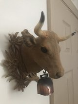 vintage wall mounted bull head in Pleasant View, Tennessee