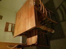 ANTIQUE TABLE WITH 3 CHAIRS in St. Charles, Illinois
