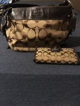Coach purse and wallet in Cleveland, Texas