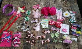 Lil Girls Bows Holder/Headband/Bows Lot in Fort Campbell, Kentucky