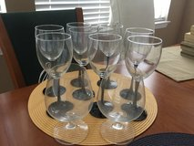 8 wine glasses & 2 Brandy snifters in Spring, Texas