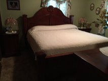 King side Bed  Minus the mattress in Fort Leonard Wood, Missouri