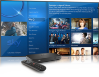 Brand New Sky Q Satellite Receiver + UK VPN Router + Viewing Card in Wiesbaden, GE