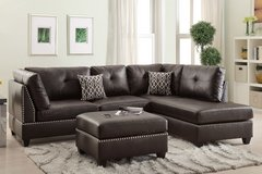 sectional with ottoman only a few of each in San Bernardino, California
