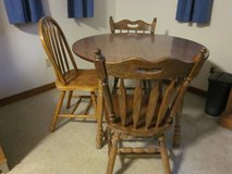 Table and 3 chairs in Camp Lejeune, North Carolina